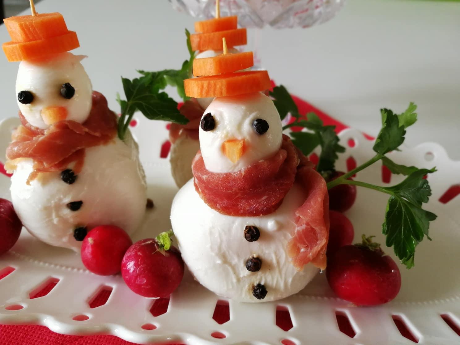 Antipasti Di Natale.Antipasto Di Natale Pupazzi Di Neve Le Migliori Ricette