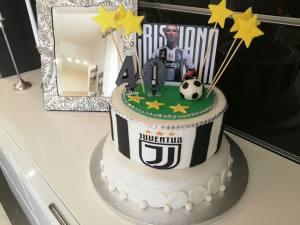 Torta Ronaldo Cr7 Juventus